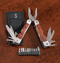 All Gifts for Him - Personalized Multi Tool with Bits and Case