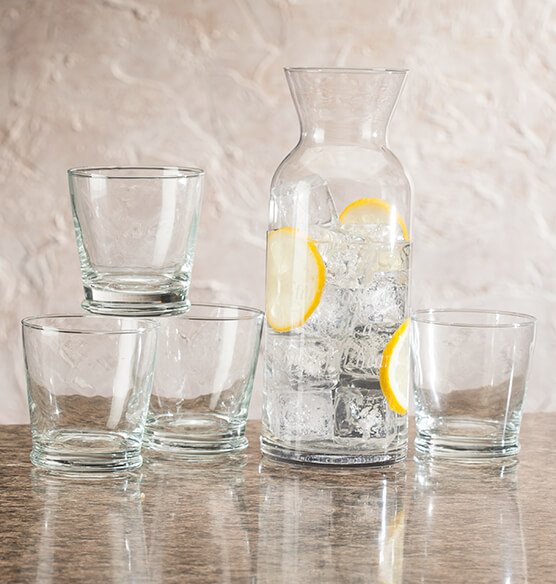 Personalized 5 Piece Carafe Set