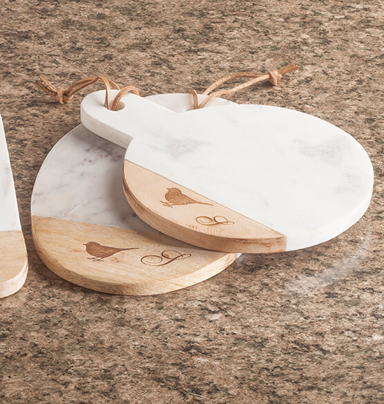Personalized Marble Cutting Boards Set of 2 by Trisha Yearwood