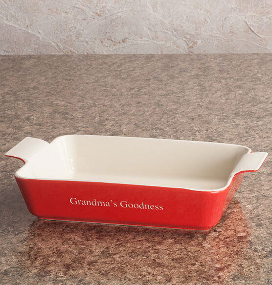 Personalized Rectangular Baker - View 1