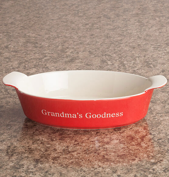 Personalized Oval Baker