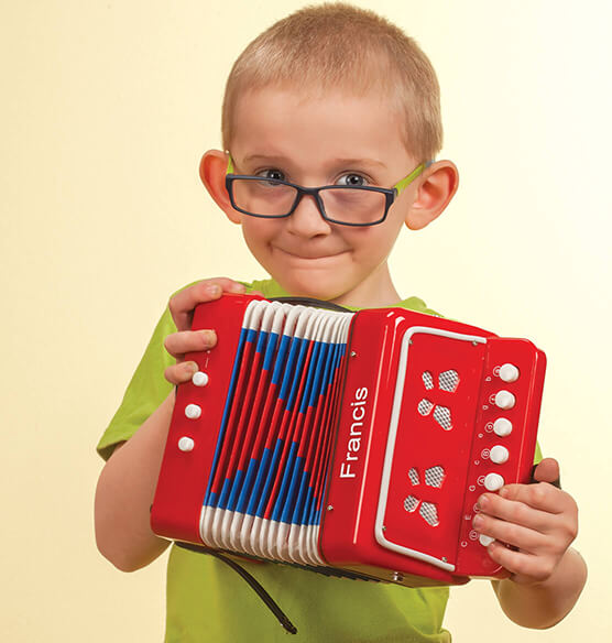 Personalized Children's Accordion - View 1