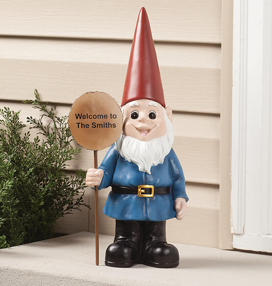 Personalized Resin Garden Gnome