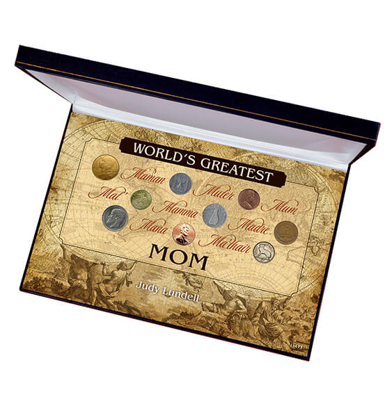 World's Greatest Mom Box Coin Collection Set