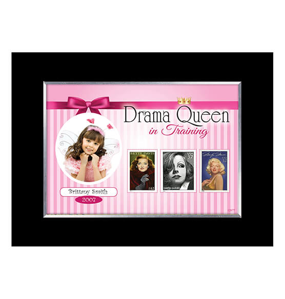 Personalized Drama Queen in Training Photo Frame