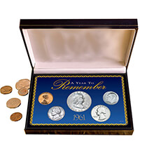 Photo Décor & Gifts - Year To Remember Coin Box Set (1934-1964)