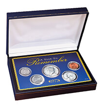 Photo Décor & Gifts - Year To Remember Coin Box Set (1965-present)