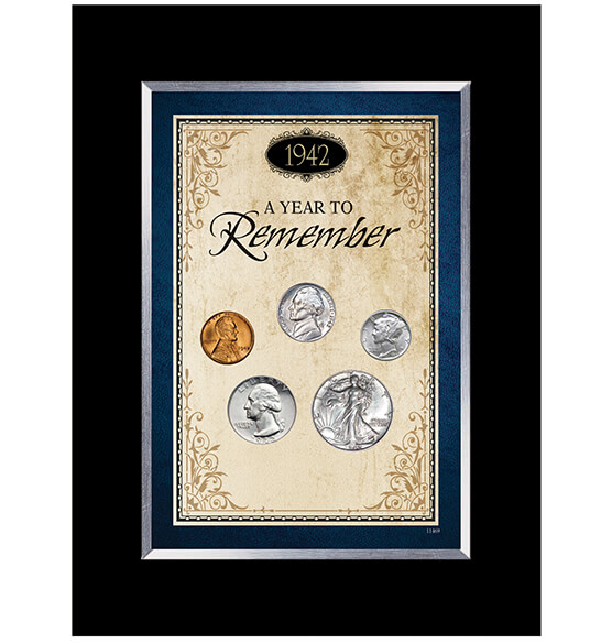Year To Remember Coin Desk Frame (1934-1964)