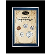 Year To Remember Coin Desk Frame (1965-present)