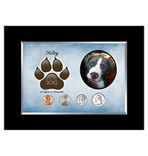Pets - Personalized Dog Frame Year To Remember