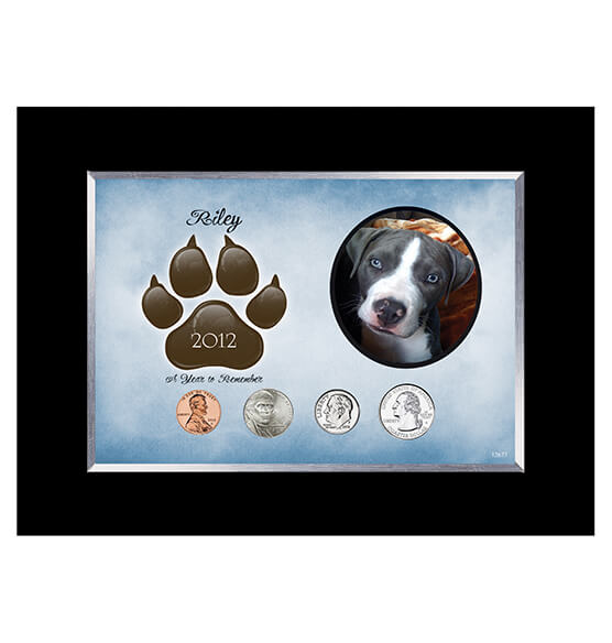 Personalized Dog Frame Year To Remember