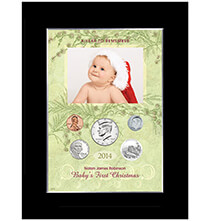 Baby's First Christmas To Remember Personalized Photo Frame