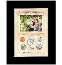 A Year to Remember - A Day To Remember Personalized 5 Coin Photo Frame