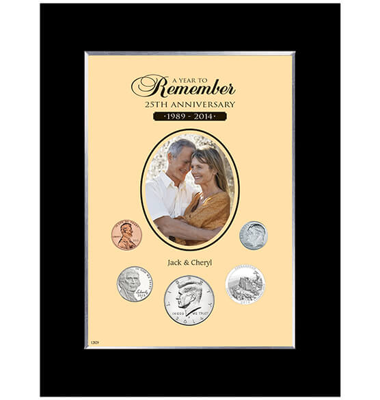 Anniversary Year To Remember Personalized Photo Frame