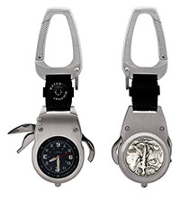 Year to Remember Half Dollar Multi-Tool Pocket Watch Compass