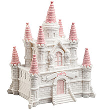 Room Décor - Personalized Pink Princess Castle Bank