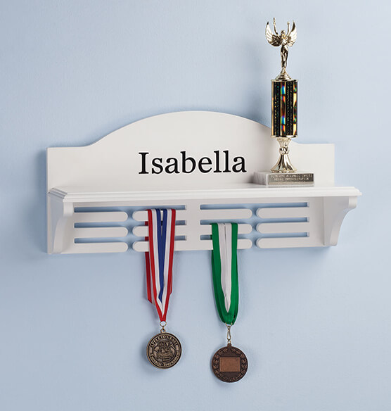Personalized Medal and Trophy Holder