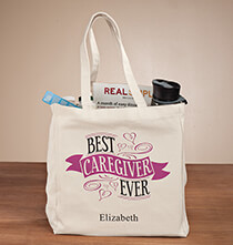 Accessories for Her - Personalized Caregiver Tote