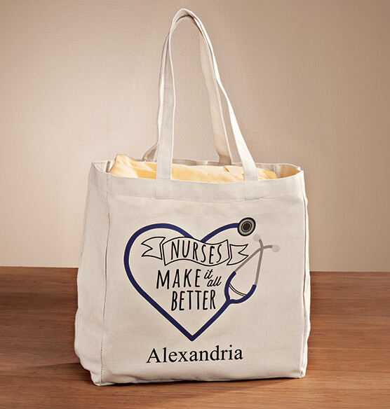 Personalized Nurses Tote - View 1
