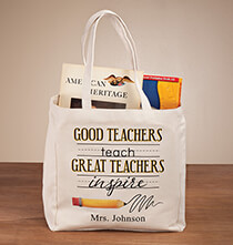 New - Personalized Teach & Inspire Tote