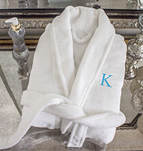 Mother's Day - Personalized Shawl Collar White Plush Fleece Robe