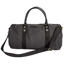 Accessories for Him - Personalized Canvas & Leather Duffle Bag