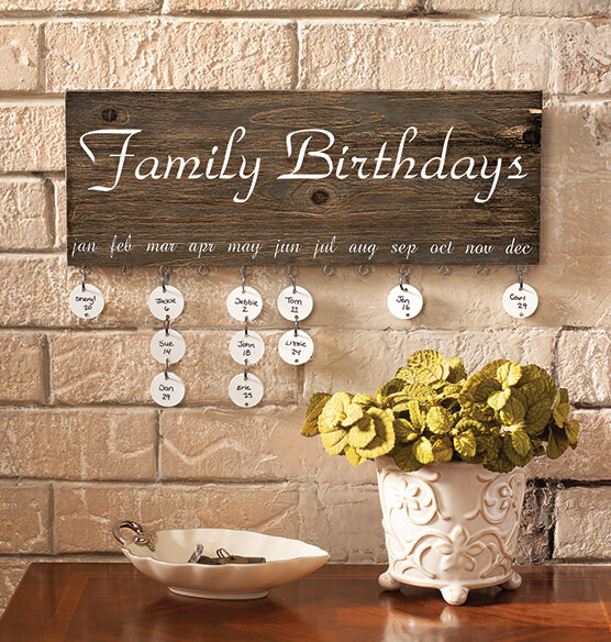 Personalized Dates To Remember Wall Hanging