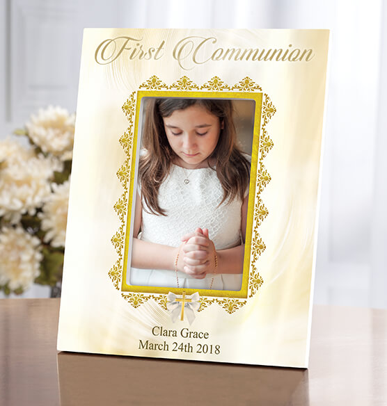 Personalized First Communion Frame