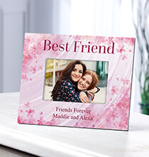 Table Frames - Personalized Flowers-a-Flutter Best Friend Frame