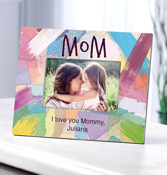 Personalized Mom I Made It Just For You Frame