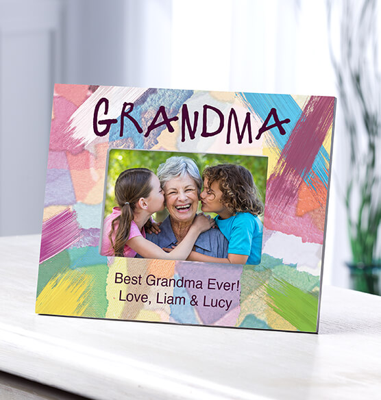 Personalized Grandma I Made It Just For You Frame
