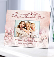 Table Frames - Personalized Laugh Dream & Love Frame