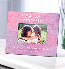 Personalized Mother Word Art Frame