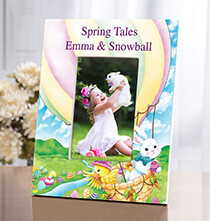 Personalized Spring Tales Frame   Add a Name or Initial for Free