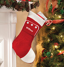 Holiday Décor - Personalized Pajamas Stocking
