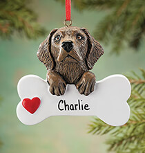 Pets - Personalized Chocolate Lab Ornament