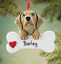 Pets - Personalized Yellow Lab Ornament