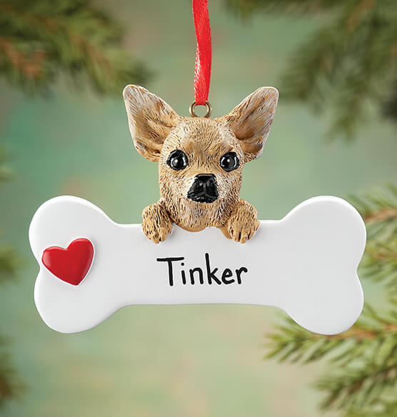 Personalized Chihuahua Ornament - View 1