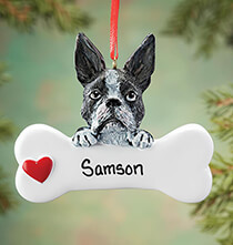 Pets - Personalized Boston Terrier Ornament