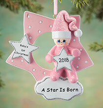 Gifts for Kids - Personalized A Star Is Born Ornament