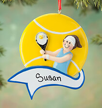 Sport Ornaments - Personalized Tennis Ornament