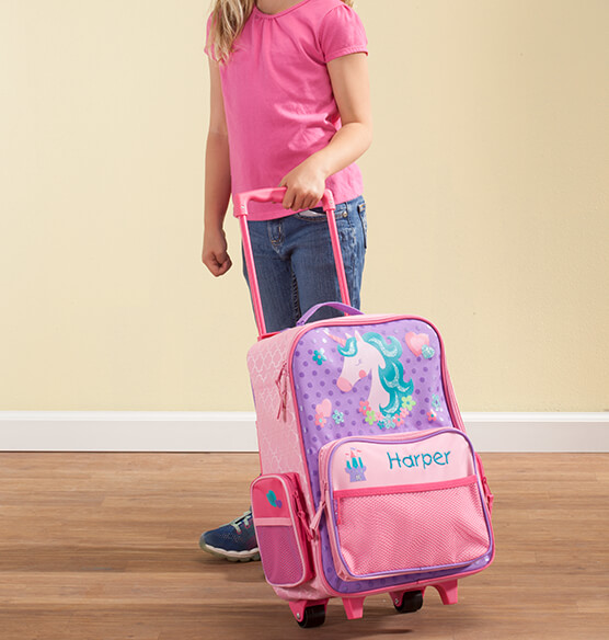 Personalized Stephen Joseph® Unicorn Classic Rolling Luggage