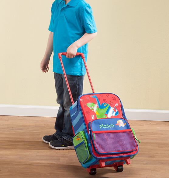 Personalized Stephen Joseph®Dinosaur Classic Rolling Luggage
