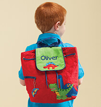 Books & Education - Personalized Stephen Joseph® Dinosaur Quilted Backpack