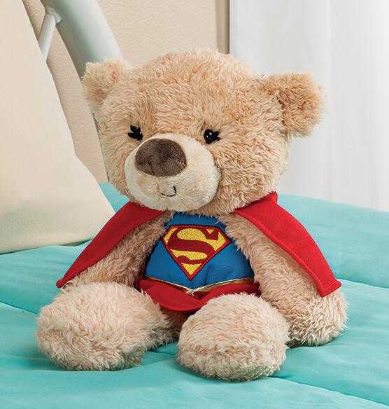 Personalized Supergirl Teddy Bear