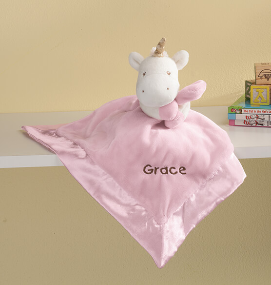Personalized Baby GUND® Unicorn Lovey