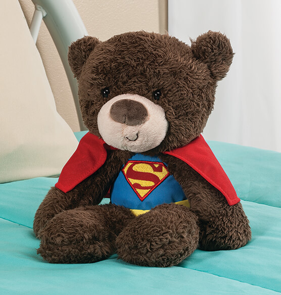 Personalized Superman Teddy Bear