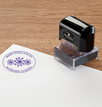 Desktop & Office - Personalized Made with Love Stamper