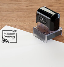 Desktop & Office - Personalized Fleur de Lis Stamper