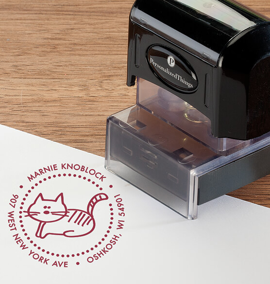 Personalized Cat Stamper - View 1